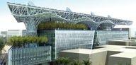 Zero Net Energy Building - Masdar Headquarters by Adrian Smith + Gordon Gill Architecture. Architecture Old, Futuristic Architecture, Old Windows, Windows And Doors, The Real Downton Abbey, Dubai, Adrian Smith, Tourism Development, Bridge Design