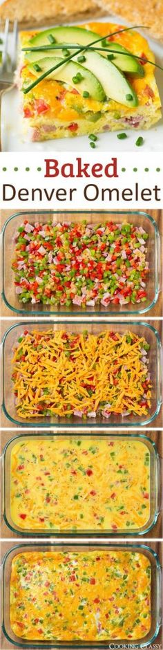 Get the recipe ♥ Baked Denver Omelette @recipes_to_go