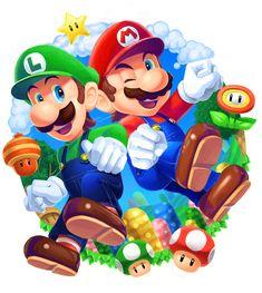 Super Mario Smash, Super Mario Games, New Super Mario Bros, Super Smash Bros, The Legend Of Zelda, Mario Fan Art, Nintendo Characters, Mario Brothers, Image Manga