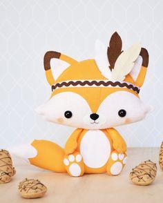 Tribal Fox, Woodland Cake, Disney Villains, Kids Decor, Pikachu, Plushies, Kids And Parenting, First Birthdays, Decoration