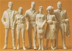 Miscellaneous Figures from Preiser Boutiques, Larger, Scale, Miniatures, Models, History, Dioramas, Formula 1, Boutique Stores
