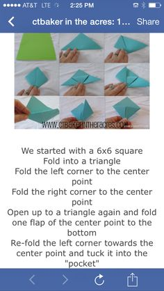 Origami monster bookmarks instructions