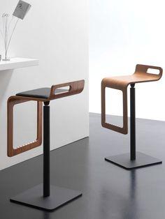Swivel stool SGABY by Riccardo Rivoli Design