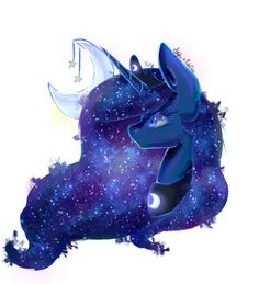 Luna | Collab with PudinDess by xKittyblue.deviantart.com on @DeviantArt