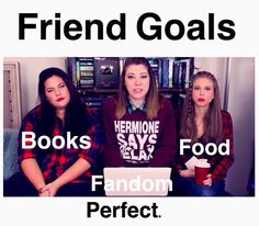 Breanne you the Books I'm the Fandom Ky you can cover the food