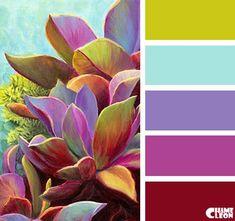 CHAMELEON. Color Palette.: