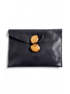Malababa 'Maderas' Small Clutch - Black