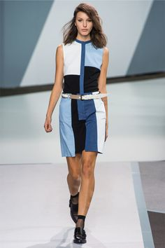 See all the Collection photos from Phillip Lim Spring/Summer 2013 Ready-To-Wear now on British Vogue Passion For Fashion, Love Fashion, Fashion Show, Fashion Outfits, Fashion Design, Nyc Fashion, Mondrian Dress, 3.1 Phillip Lim, What To Wear