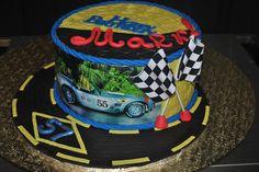 Racing car- Birthday cake - The Cake Zone- FL