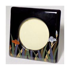 1980s Shibata Ceramic Picture Frame 3x3 Hand Vintage Picture Frames, Vintage Floral, 1980s, Vintage Items, Floral Prints, Ceramics, Unique Jewelry, Handmade Gifts, Pictures