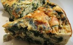 Sam Tan's Kitchen: Crustless Spinach & Tofu Quiche (Low-Carb and Gluten-Free) Dukan Diet Recipes, Tofu Recipes, Low Carb Recipes, Vegetarian Recipes, Healthy Recipes, Good Food, Yummy Food, Snacks Für Party, Quiche Recipes