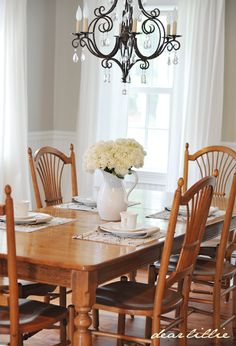 My Parent's Dining Room  by Dear Lillie