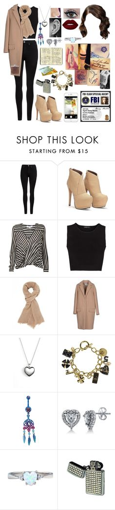 """""""Untitled #656"""" by skh-siera18 ❤ liked on Polyvore featuring Dr. Denim, 10 Crosby Derek Lam, MANGO, Charlotte Russe, Dondup, Disney, Pandora, Chanel, BERRICLE and Moleskine"""