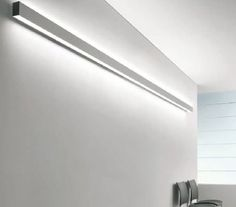 Linear ceiling mounted fluorescent luminaire pendant pinterest linear wall mounted fluorescent light fixture for offices and shops tendo 1 15463 schmitz leuchten gmbh co kg mozeypictures Image collections