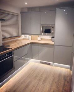 Do you want to have an IKEA kitchen design for your home? Every kitchen should have a cupboard for food storage or cooking utensils. So also with IKEA kitchen design. Here are 70 IKEA Kitchen Design Ideas in our opinion. Hopefully inspired and enjoy! Kitchen Room Design, Modern Kitchen Design, Interior Design Kitchen, Home Decor Kitchen, Home Kitchens, Kitchen Ideas, Kitchen Grey, Diy Kitchen, Ikea Kitchens