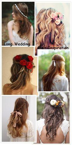 Long Wedding Hair Inspiration