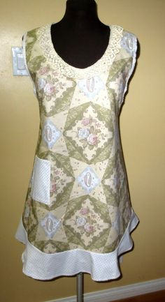 vintage styled apron by byemilyrose on Etsy, $39.00
