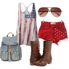 Fourth of July, created by fcg5006 on Polyvore