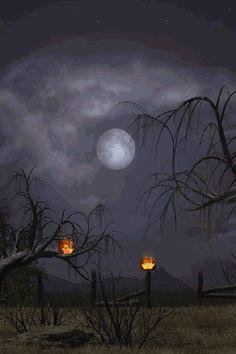 Upon Halloween night, such a creepy, eerie sight. Happy Halloween