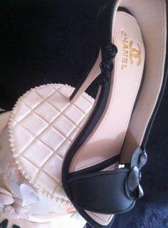 chanel sugar shoes camelia by sabine guilhem