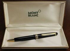 There's a whole bunch of vintage Montblanc items added to the site – pens, pencils, and of course, fountain pens. Vintage Montblanc – Sets Montblanc 32 – 35 Fountain Pen/Mechanical Pencil Set – I love having a complete set. Anderson Pens, Vintage Pens, Mechanical Pencils, Ads, Mont Blanc, Mechanical Pencil