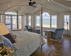 Waterfront Retreat beach-style-bedroom