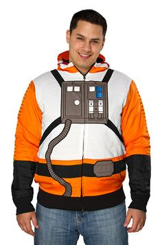 Rebel Pilot Costume Hoodie This would've been useful in 5th grade... -_- @Miller Time