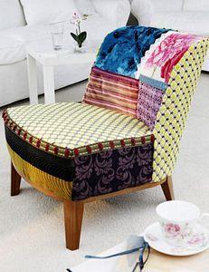 Butaca patchwork, cómo hacerla