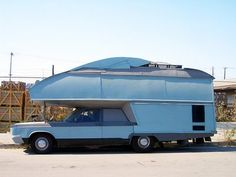 There are some truly wacky RV mash-ups out there! Wacky combinations, such as: two kinds of RVs fused as one, RVs on top of other RVs, RVs combined with trains, planes and all kinds of automobiles. The possibilities are simply endless.Say what you will about the, hmm... lack of practically, of...