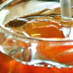 SweetTea. (makes 1 gallon):12 regular Tea Bags, (4 Cups) - BoilingWater. 12 cups) - Cool Water. 1 1/2 - 2 (one & a half) - Cups#Sugar. 1/4 teaspoon - Baking Soda (this IS the#SECRETIngredient!!) Directions: Sprinkle baking soda into a pitcher . Add Tea bags . Pour Boiling water over tea bags. Cover and allow to steep for 15 minutes. Remove and toss out Tea Bags. Add Sugar and Stir until completely dissolved. Add Cool Water.Refrigerate until cold