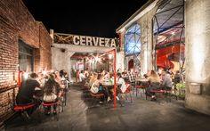 :: Alexandra Proaño 3D - Green Pear Diaries ::: Cervecería Capitán Central: la transformación de una estación de policía en un impresionante bar de estética industrial