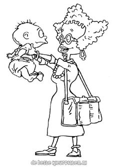 angelica rugrats coloring pages | ideas | pinterest | rugrats and ... - Rugrats Characters Coloring Pages