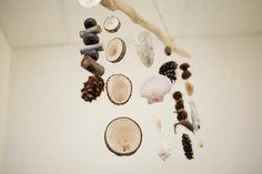 Log snips for birthday display