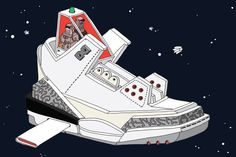 The Space Sneaker Project by Ghica Popa
