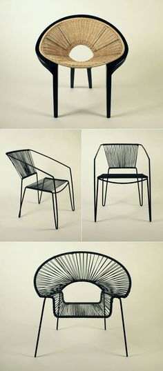 /// mexican wire chairs
