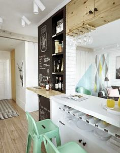 Small & Low Cost: Un apartamento pequeño en Rusia