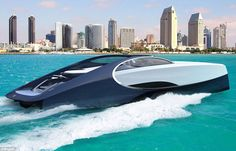 Bugatti – the French manufacturer behind one of the world's fastest production cars – has launched a new luxury yacht, the 66-ft Bugatti Niniette 66, pictured