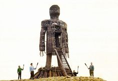 The Wicker Man 1973 Christopher Lee Cult Horror Film Photo Poster Print British Lions, Wicker Man, Hammer Films, Psychological Horror, Halloween Movies, Scary Movies, Film Review, Guy Pictures, Horror Films