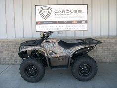 """New 2016 Yamaha Kodiakâ""""¢ 700 EPS ATVs For Sale in Minnesota. GET THIS ALL NEW 2016 YAMAHA KODIAK WITH CAMO AND EPS NOW ON SALE FOR $ 7,895.00 AT CAROUSEL MOTORSPORTS IN DELANO. MSRP on this ATV is $ 8,649.00 + FREIGHT.  The all new Yamaha Kodiak 700 has all the bare essentials covered! This tough Kodiak features Yamaha electric power steering!! Built for the Real World, The 2016 Kodiakâ""""¢ 700 has an all-new 708cc, 4-valve, fuel-injected engine with optimized torque, power delivery and…"""