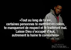 Will Smith citation Will Smith, Word Line, Lines Quotes, Quote Citation, French Quotes, Let God, Learn French, Positive Attitude, Happy Thoughts