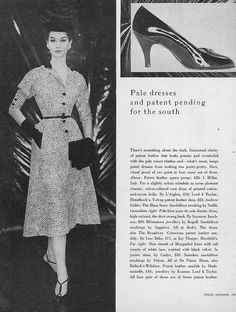 Nancy Berg, December Vogue 1953