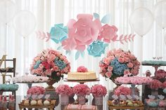 31 Adorable Shabby Chic Garden Decoration Ideas, Shabby Chic is now an increasingly common style of home decor over the past couple of decades. So, shabby chic is simply a technique of creating your . Garden Birthday, 3rd Birthday Parties, Birthday Party Decorations, Party Themes, Party Ideas, Girl Parties, Party Garden, Cumpleaños Shabby Chic, Shabby Chic Garden
