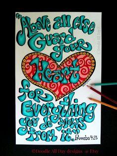 doodle art scripture | Click on design to enlarge