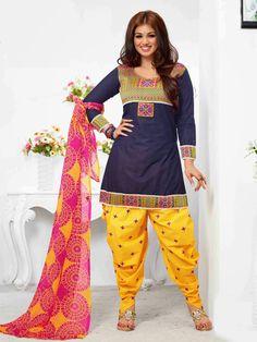 Patiyala Anarkali Salwar Suit Piyuji.com