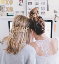 Hair style for bestfriends