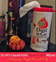"""Frugal Mom and Wife: Scott's Liquid Gold """"Dust 'n Go"""" Wipes Review!"""