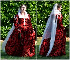 I have entered the Realm of Venus Italian Renaissance Costuming Challenge again! Lately I have made several outfits that were pretty much directly based off of one specific painting, so this time I… Italian Renaissance Dress, Renaissance Costume, Medieval Costume, Medieval Dress, Elizabethan Costume, 1500s Fashion, Tudor Fashion, Italian Outfits, Italian Clothing