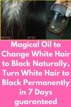 Magical Oil to Change White Hair to Black Naturally, Turn White Hair to Black Permanently in 7 Days guaranteed Today I will share the recipe for magical hair oil to convert grey hair to black naturally. Ingredients, you will need- 50ml of organic coconut oil( preferable natural coconut oil) 4 tablespoon of Indian gooseberry powder(amla powder) Method- 1. Firstly take 50 ml of pure coconut oil in a pan. Now add 4 tablespoons of Indian …