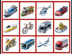 Benefits of transport, choose one and tell me the why? Montessori Math, Montessori Materials, Spanish Class, Teaching Spanish, Abc Education, English Games, Transportation Theme, Thinking Skills, How To Speak Spanish
