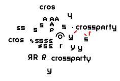 crossparty logo redesign process  crossparty yamaximov logo